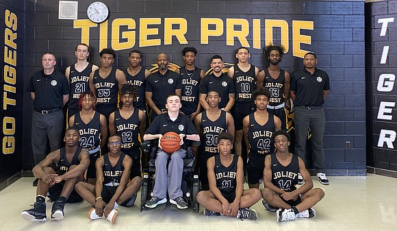 The Joliet West Boys Basketball won the SPC East Division Championship on Monday, February 24 at Joliet West High School. ...