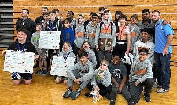 The Troy 30-C Wrestling Team took 2nd at the recent IESA Sectional Meet, held at Lincoln-Way West High School. Twelve ...