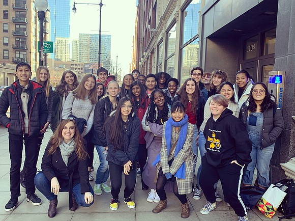 The Plainfield East High School and John F. Kennedy Middle School poetry teams showcased their poetry skills during the Louder ...