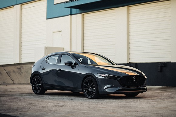 While test driving the 2020 Mazda3 Hatchback, we pulled into a parking spot at the grocery store and before we ...