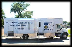 The Will County Community Health Center Mobile Medical Unit will be at the Nowell Park Recreation Center (199 Mills Road, ...