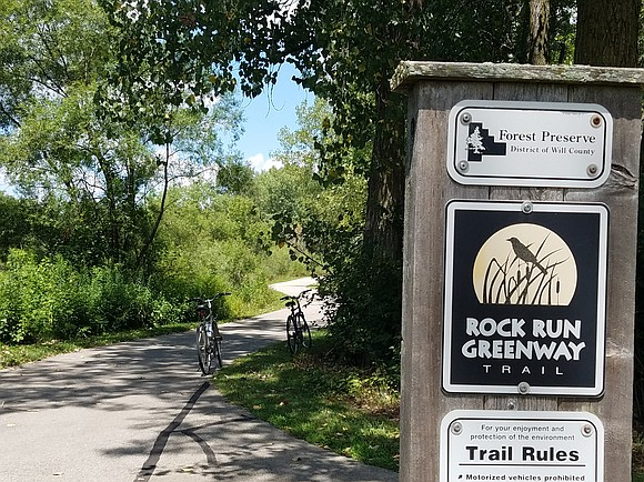 Work is expected to resume this month on a Forest Preserve District of Will County trail connection project that will ...