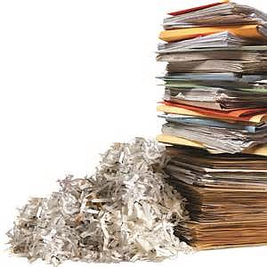 Unused documents like bills and medical records can begin to crowd people's homes. To ensure the items are properly disposed, ...