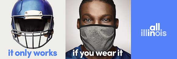 In an effort to get everyone in Illinois on board with the importance of wearing face coverings in public, Gov. ...