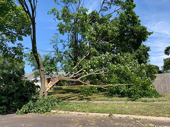 Joliet and many other communities throughout Will County were hit hard by Monday afternoons severe storms and tornado-like winds that ...