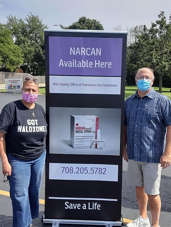 One of the many negative ripple effects of the Coronavirus pandemic in Will County has been the surge in Opioid ...