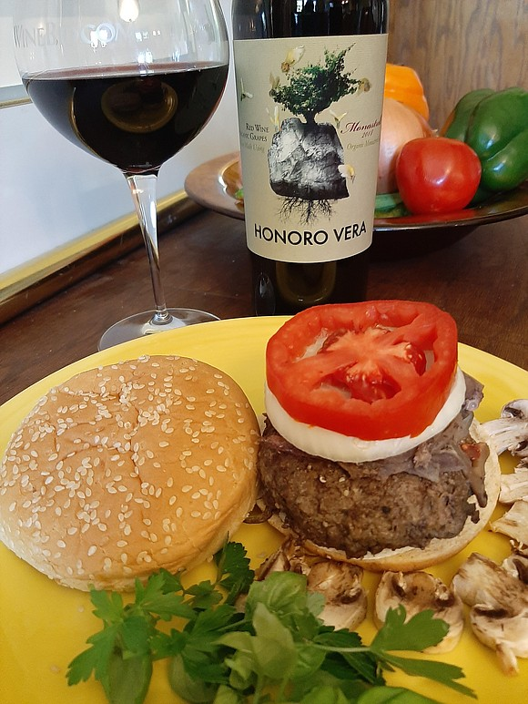 What wine goes best with BBQ, Pizza or a good, juicy hamburger (made with organic grass feed beef) The answer ...