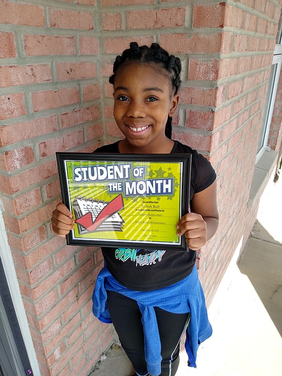 The following Joliet Public Schools District 86 students were named Students of the Month for September. Edna Keith Elementary Trileah ...