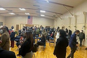 Registered voters from Joliet Township packed a Democratic Caucus meeting Tuesday night and voted in a whole new slate of candidates who will be on the ballot in April.