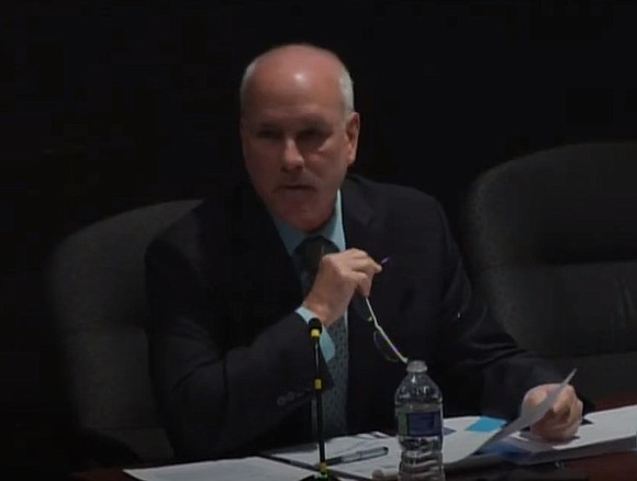 Joliet interim City Manager Jim Hock presided over his last City Council meeting on Tuesday and talked briefly about going ...