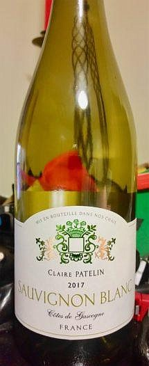 WINE OF THE WEEK Claire Patelin 2019 Sauvignon Blanc First I'll tell you about the region. The wine is a ...