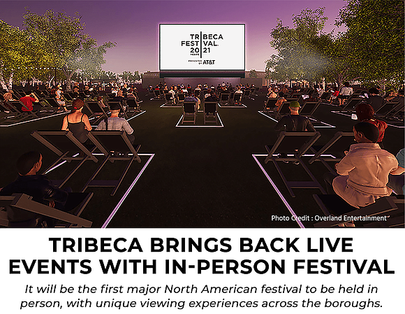 Live Tribeca Film Festival is proof NYC is back!