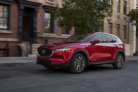 We got a chance to try out the Mazda CX-5 with the relatively new 2.5-liter turbocharged four-cylinder engine. It made ...