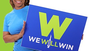 """The Will County Health Department's """"We Will Win"""" campaign is aimed at getting as many people as possible vaccinated to protect them from COVID-19."""