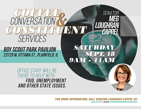 To give residents the chance to discuss their concerns and ideas, State Senator Meg Loughran Cappel (D-Shorewood) will hold an ...