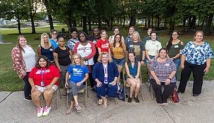 These JJC students are in the cohort.