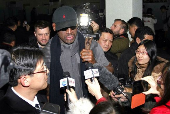 Dennis Rodman doesn't believe the U.S. government. That's not such a surprising sentence, but in regards to the recent Sony ...