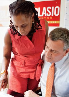 ESSENCE's June issue features an exclusive interview with Chirlane McCray, wife of New York City Democratic mayoral candidate Bill de ...