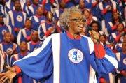 Mama Burks, lead singer for Mississippi Mass Choir