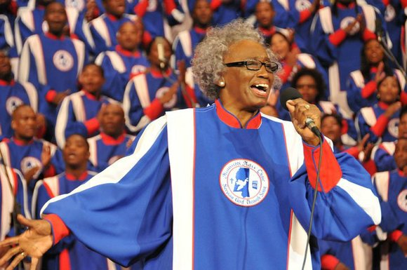 As I child I was surrounded by the sounds of gospel music. My grandmother was either playing it or singing ...