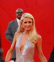 Paris Hilton on Red Carpet Venice Film Festival Sept 4, 2009