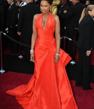 Jennifer Hudson arrives on the red carpet at the 83rd Annual Academy Awards on Sunday, February 27, 2011. Photo: Tom Larson/CNN