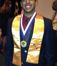 Dominican immigrant Felix Contreras, 22,  is beating the odds and is on the path to medical school.