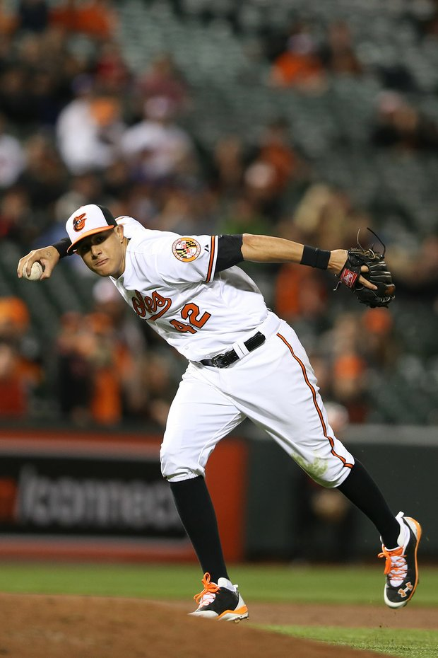 Orioles third baseman Manny Machado