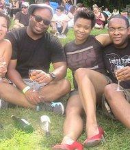 Patrons enjoying the festivities at last year's Great Grapes Wine & Food Festival at Oregan Ridge Park.