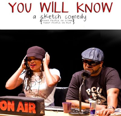 "Michal Roxie Johnson teamed with Walter J. Slowe III to craft sketches that reflect their experiences of losing a job and finding oneself in the arts or other passions in ""You Will Know"" at Baltimore's Theatre Project June 27-30, 2013."