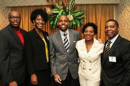 Texas Black Expo Board of Directors (Council Member Larry Green, VP Shannon Williams, President Jerome Love, Chair LaTayne Bruce, Member Joel Clary)