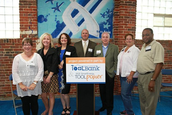Community and nonprofit leaders from across central Maryland gathered to applaud the collaboration between BGE, the Baltimore Community ToolBank and ...