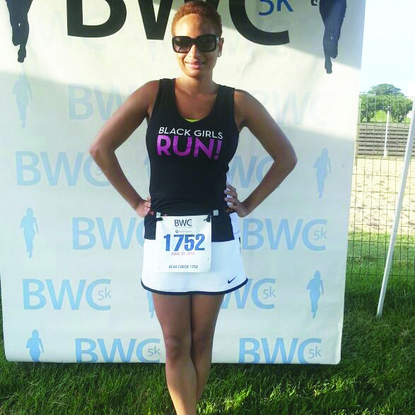 Gabrielle Powell is an ambassador for the Baltimore chapter of Black Girls Run!