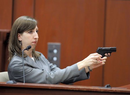 SANFORD, Fla. — Prosecutors in the George Zimmerman trial presented evidence of DNA test results to the jury Wednesday that ...