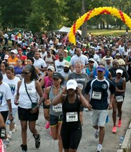 HBCU alumni participated in the 6th Annual Atlanta HBCU Alumni Run/Walk to raise money for scholarships.