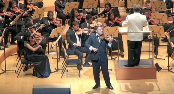 In its final concert for the season, the Inner City Youth Orchestra of Los Angeles (ICYOLA) proved that it is ...