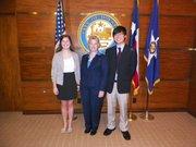 Memorial High School – Justin Lee and Sarah Kate Thomas