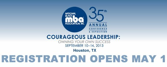 The National Black MBA Association, Inc. announced its 35th Annual Conference and Exposition, September 10 — 14, 2013 at the ...