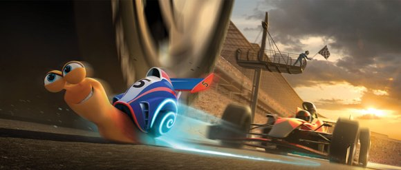 Turbo (voiced by Ryan Reynolds) puts his heart and shell on the line to Turbo-charge his own impossible dream: winning the Indy 500.