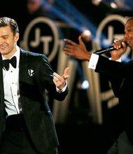 Justin Timberlake and Jay-Z.
