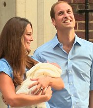William and Kate introduce the royal baby  The Duke and Duchess of Cambridge made their first public appearance after the birth of their son. Prince William and Catherine introduced their royal baby boy to the world Tuesday, July 23, 2013.