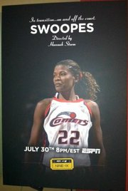 "The Swoopes ""Nine for IX"" documentary airs Tuesday, July 30th at 7:30 CST on ESPN."