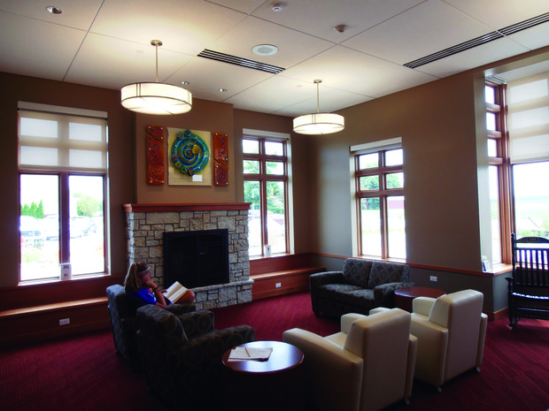 A quiet reading room was just one of the various amenities that came with the expansion of the Homer Township Public Library.