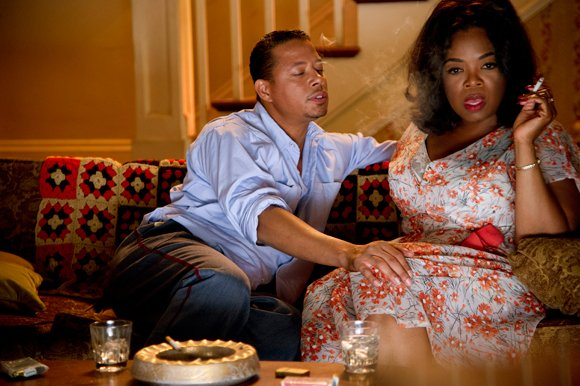 "Terrence Howard and Oprah Winfrey star in ""The Butler."""