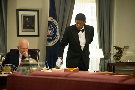 """Robin Williams and Forest Whitaker star in """"Lee Daniel's The Butler."""""""