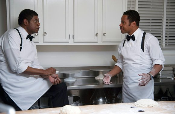 "Forest Whitaker and Cuba Gooding Jr. star in ""The Butler."""
