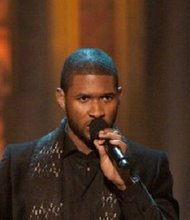 Usher is pictured in Washington, D.C. for the annual TNT Christmas in Washington event in December, 2009. Usher's son was injured in a near drowning incident at his Atlanta-area home Tuesday, August 6,