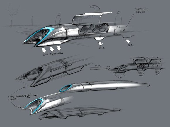 With his Hyperloop proposal, Elon Musk isn't the only entrepreneur proposing ways to rev up American transportation. The man who brought us sleek, clean electric Tesla cars and SpaceX — a private space program that successfully sent a payload to the orbiting space station — is setting his sights on a radically different mass transit proposal called Hyperloop. Giant vacuum tubes would suck travelers across thousands of miles in a matter of minutes. Technology in the Digital Age is spurring countless ideas aimed at improving — and even reinventing — the way humans travel. The issue is becoming a pressing one with increasing traffic and vehicle emissions.