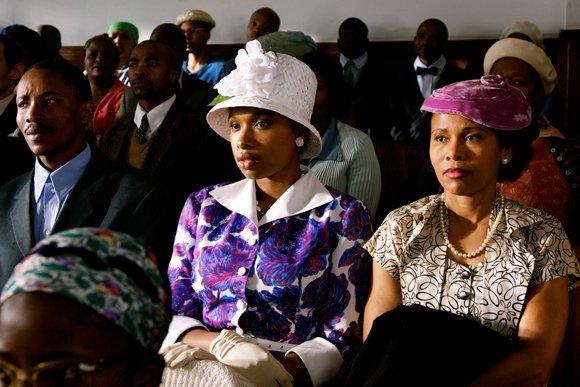 "Jennifer Hudson stars as Winnie in ""Winnie Mandela."""