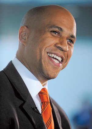 Newark Mayor Cory Booker will move on to New Jersey's special Senate election as the Democratic nominee after winning his ...